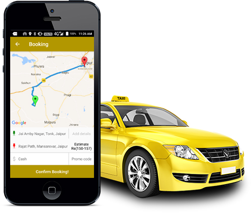 List of best Taxi Booking apps